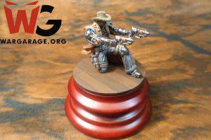 Jesse James del wargame de miniaturas Wild West Exodus de Wayland Games