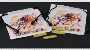 Fichas de metal y bolsas para dados AGL Kit de Evento
