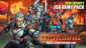 Lanzamiento de Infinity Uprising y nuevo Army Pack JSA