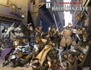 Mal en Baldur's Gate de Dungeons and Dragons, uno de los cómics donde participa Jim Zub como escritor