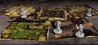 Skull Tales: ¡A toda vela! Losetas y miniaturas para la Fase de Aventura