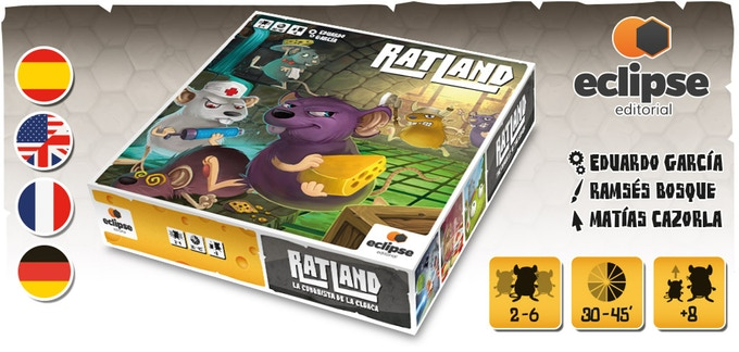Ratland: La conquista de la Cloaca, guía a tu clan de ratas a la victoria (Reseña)