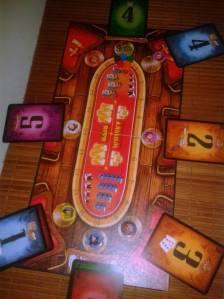 Ejemplo de partida de Wanted 7 en desarrollo