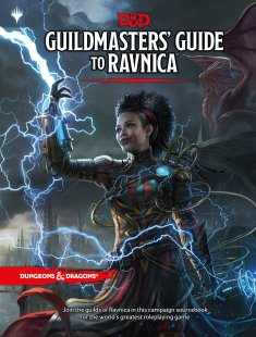 La recientemente anunciada Guía para Ravnica que une Dungeons and Dragons con Magic: The Gathering