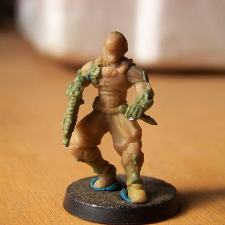 Miniatura esculpida por Isaac Gutiérrez