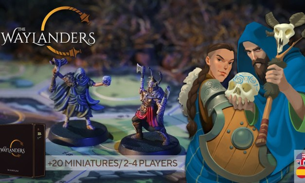 The Waylanders The Board Game in Kickstarter