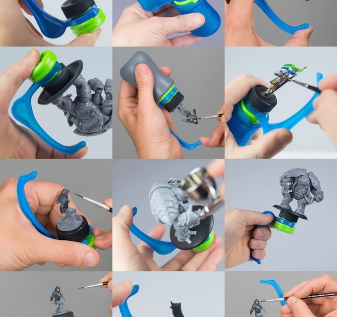 Hobby Holder Kickstarter Campaign by Game Envy Creations is almost over