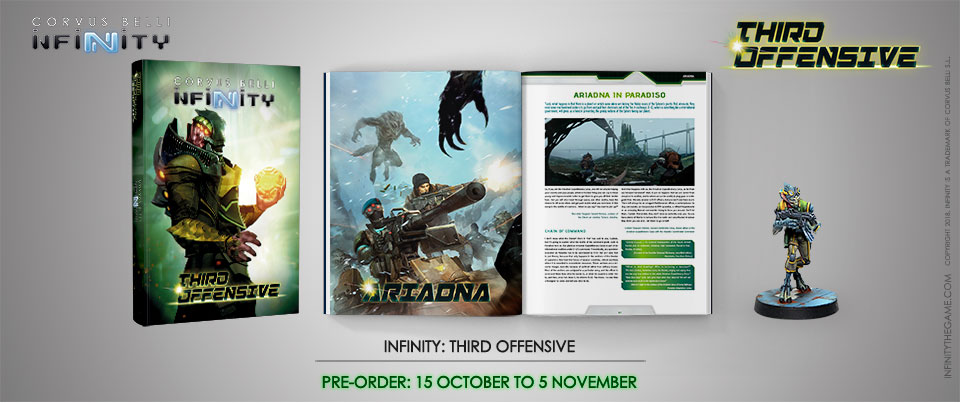 Infinity Third Offensive, pre-order content