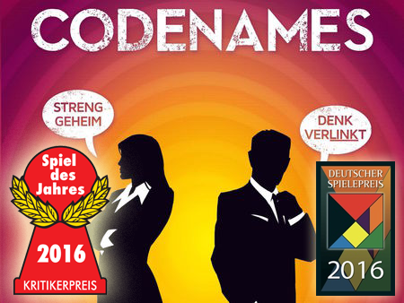 Codenames Juego de mesa más vendido en Amazon 2018