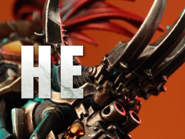 La garra es icónica en el universo de Warhammer 40,000 así que es inconfundible