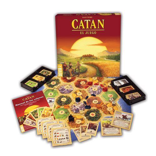 """Catan es considerado un clásico de los """"juegos de mesa modernos"""""""