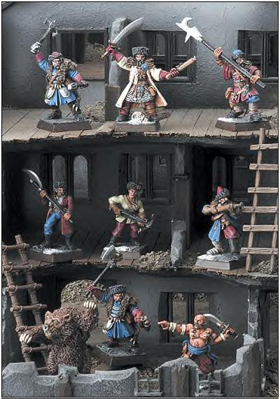 Mordheim City of the Damned warband Kislevites