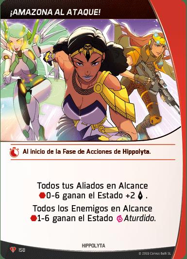Táctica ¡Amazona al Ataque! Hippolyta Aristeia!