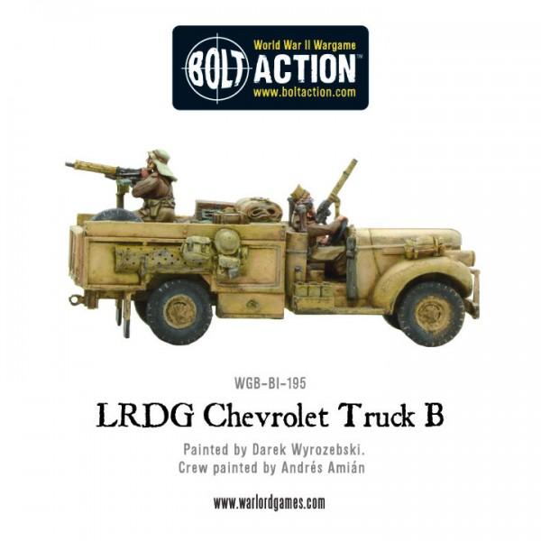 LRDG Chevrolet Truck B