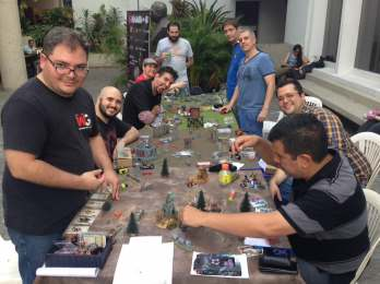 Wargarage.org participando en el torneo de Wrath of Kings