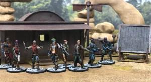 Pandilla de Judge Dredd el Juego de Miniaturas