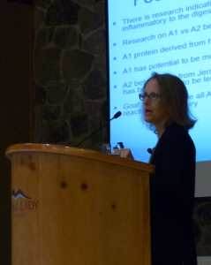 Heidi Turner lectures on the gut and autoimmunity