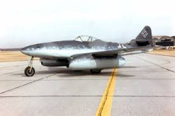 WW II German ME-262 jet fighter.