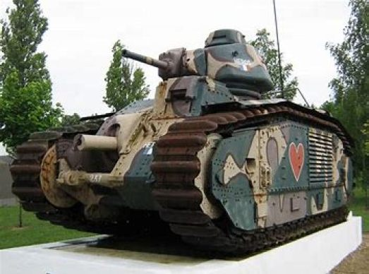 French Char-B tank