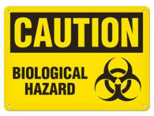 Biological hazards universal symbol