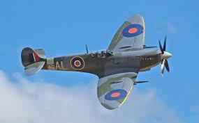 The iconic Supermarine Spitfire.