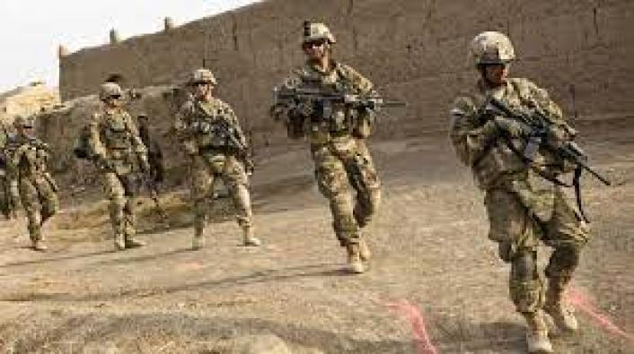 """Modern US Army infantry on patrol in a foreign country. While weapons change, the need for """"boots on the ground"""" doesn't."""