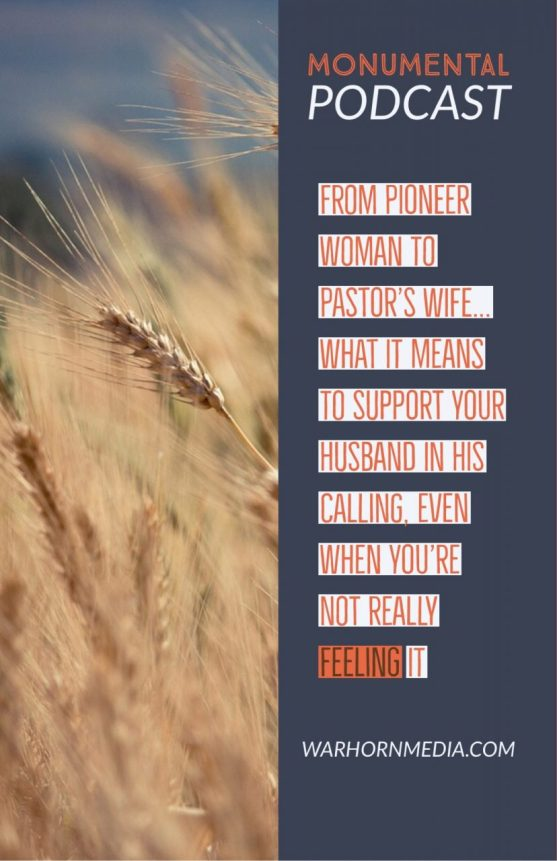 Monumental Podcast, episode 4: Christian podcast for women, testimony from pastor's wife about calling, submission, contentment, hospitality, and being an introvert!