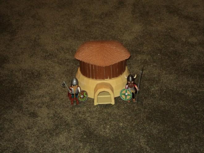 Playmobil Dark Age Hut5