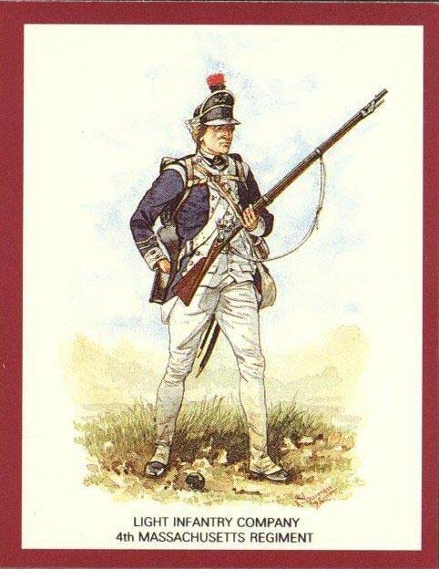 Light Infantry 4th Mass