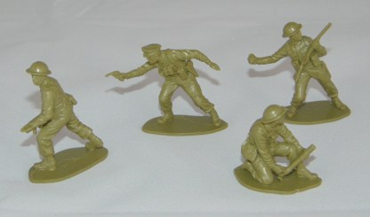 Lot Airfix British Infantry