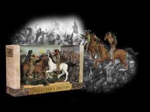 Paragon Sioux Warriors Painted Mounted