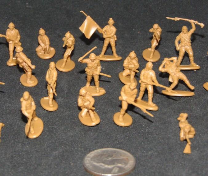 Matchbox Japanese 76 Infantry