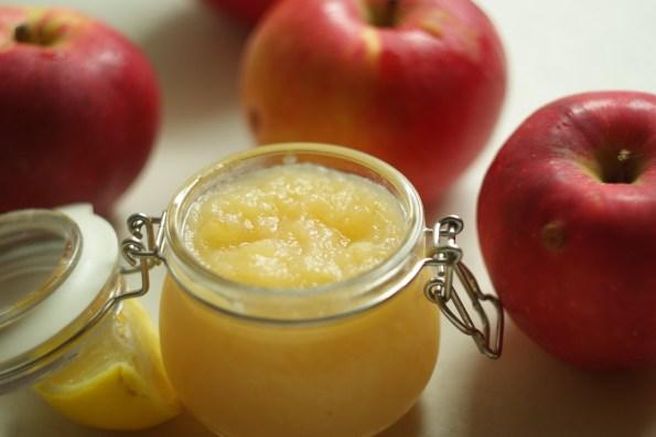 jabłka duszone