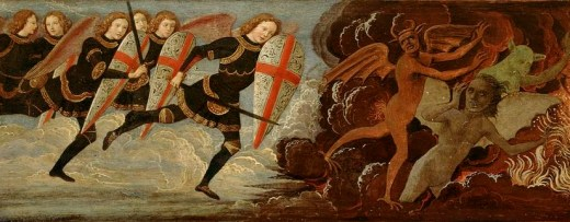 Image result for war in heaven st michael