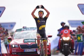 Gran victoria de Lilian Calmejane en Teixido