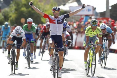 Van Genechten logra su primer triunfo en la Vuelta
