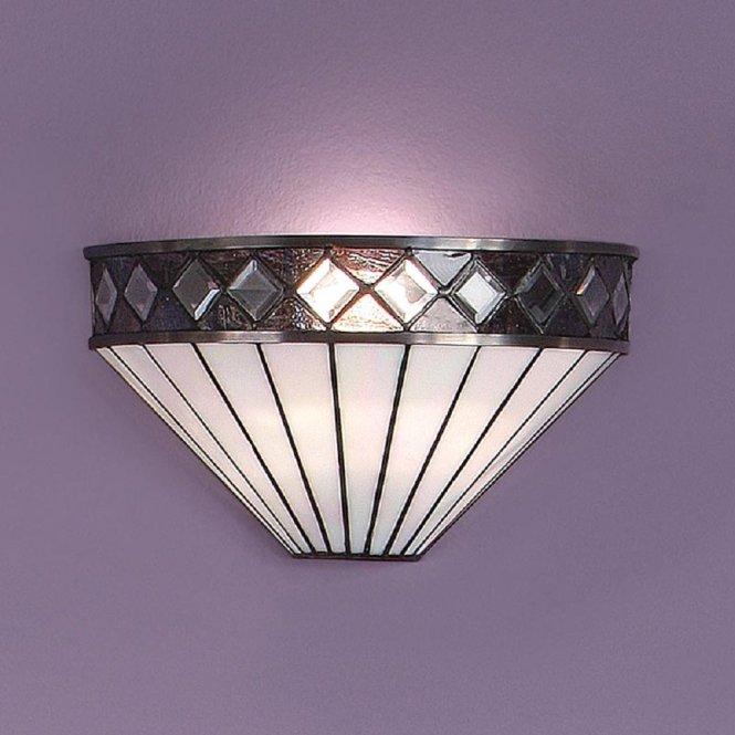 Art Deco Wall Light With Hexagon Gl Shade 750 X 600