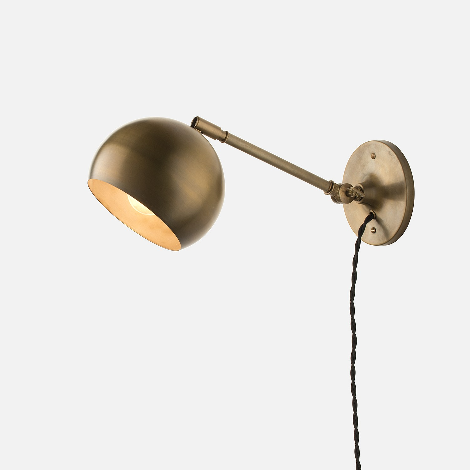 A little practical guide by Plug in sconce wall light ... on Plugin Wall Sconce Lights id=73889