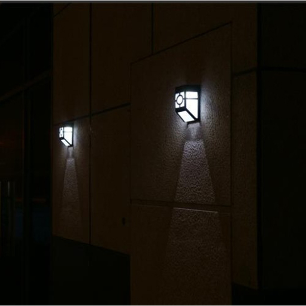 Solar powered wall mounted lights - 19 Eco-friendly ways ... on Wall Mounted Decorative Lights id=77866