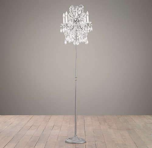 Standing Chandelier Floor Lamp Photo 2