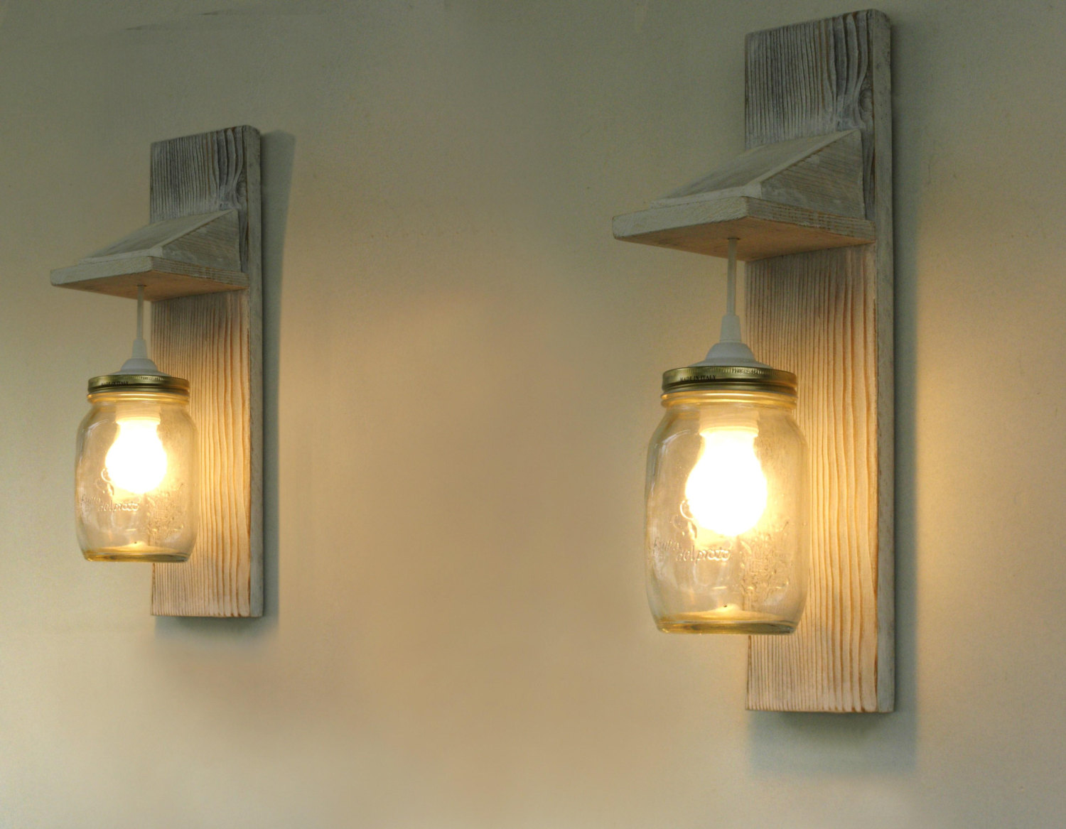 Wooden wall lights - fit perfectly to the interiors of ... on Wood Wall Sconces id=52836