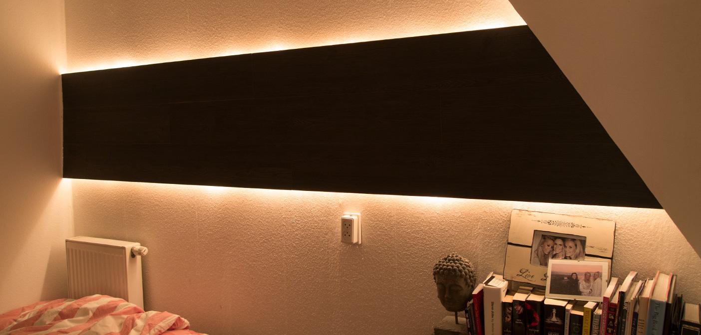 hidden indirect wall lighting