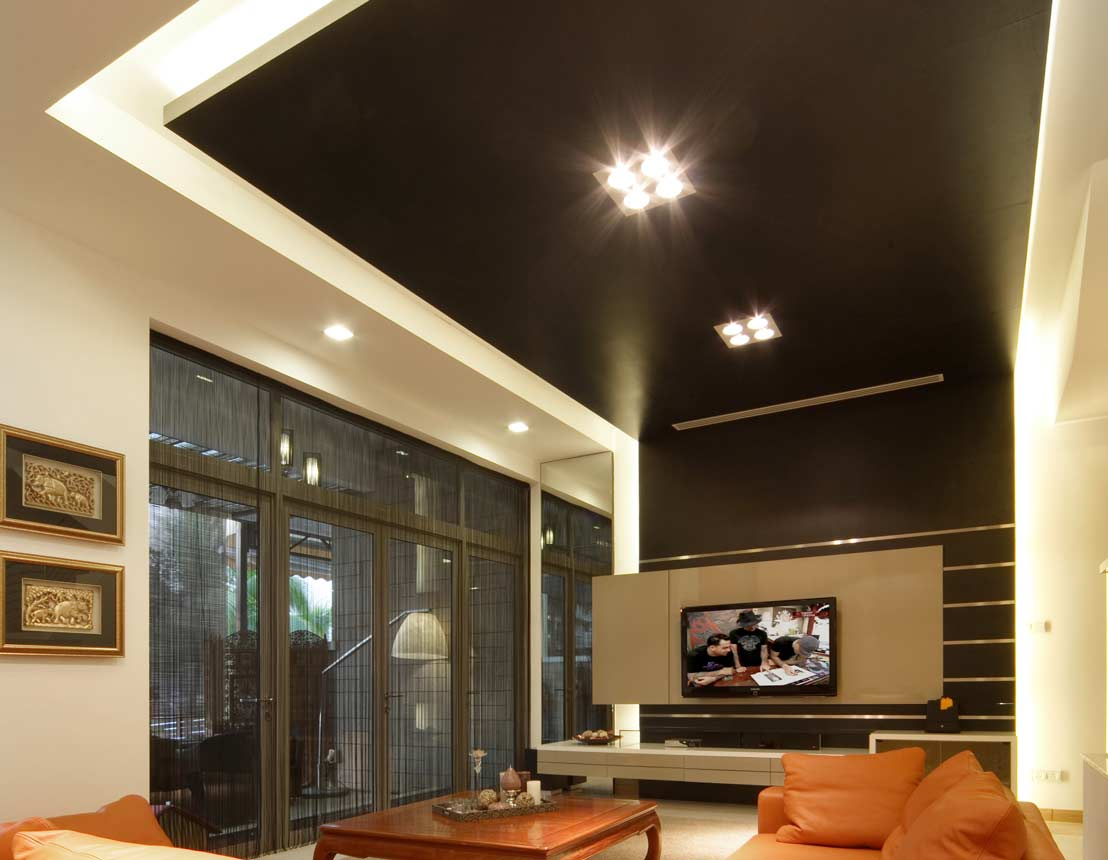 10 Great Ideas Of False Ceiling Lights
