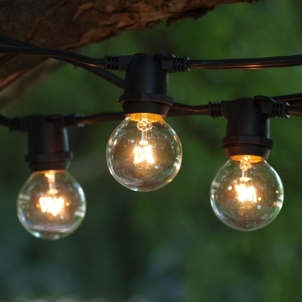 why commercial outdoor globe string