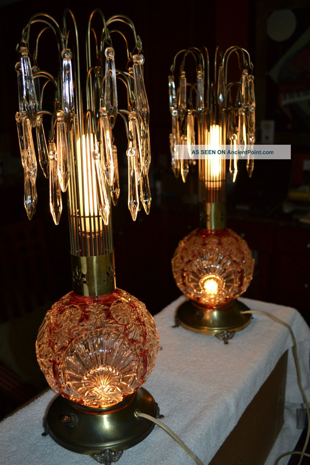 The Beauty Of Using Antique Crystal Lamps Warisan Lighting
