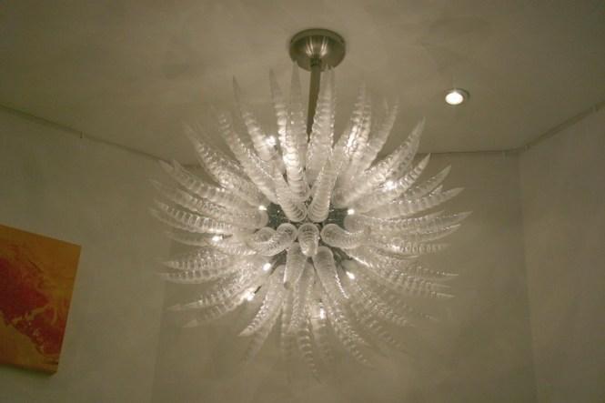 Ceiling Fan Chandelier Light Photo 10