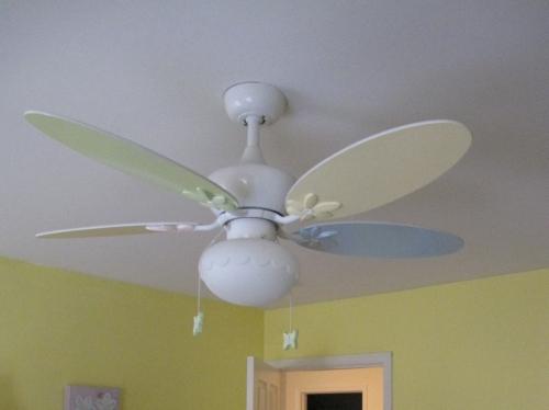 Tinkerbell ceiling fan pull aloadofball Choice Image
