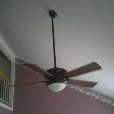 Hanging a ceiling fan on vaulted energywarden angled ceiling fan installation hbm blog mozeypictures Images