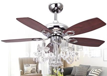 Chandelier Ceiling Fan Light Photo 1