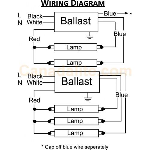 bodine b50 ballast wiring diagram